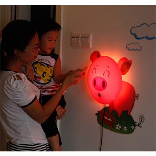 PLAFON INFANTIL 1 LÂMPADA  PIG – PI0104-1.000