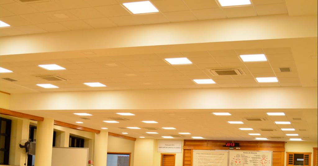 Vantagens dos painéis de LED
