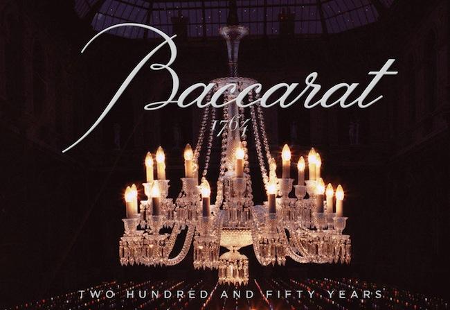 250 anos da Baccarat