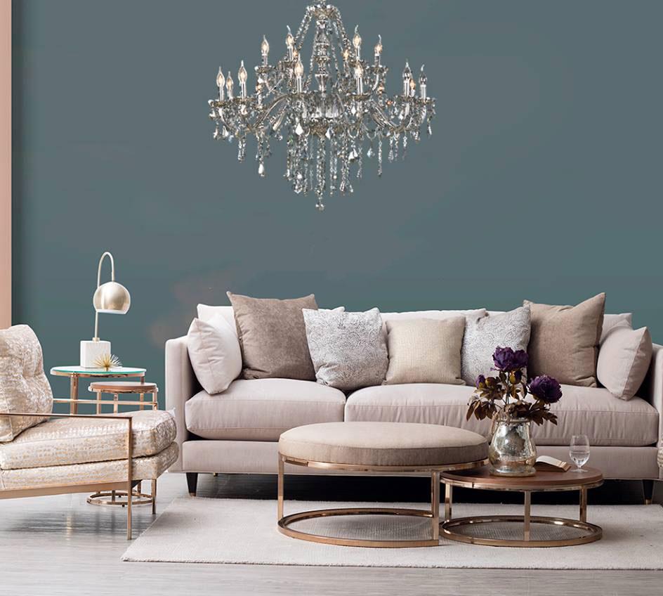 Lustre Clássico para sala de estar