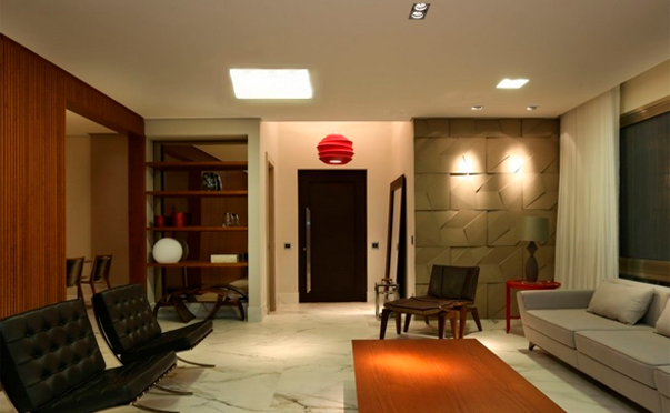 Painel de LED Escritório