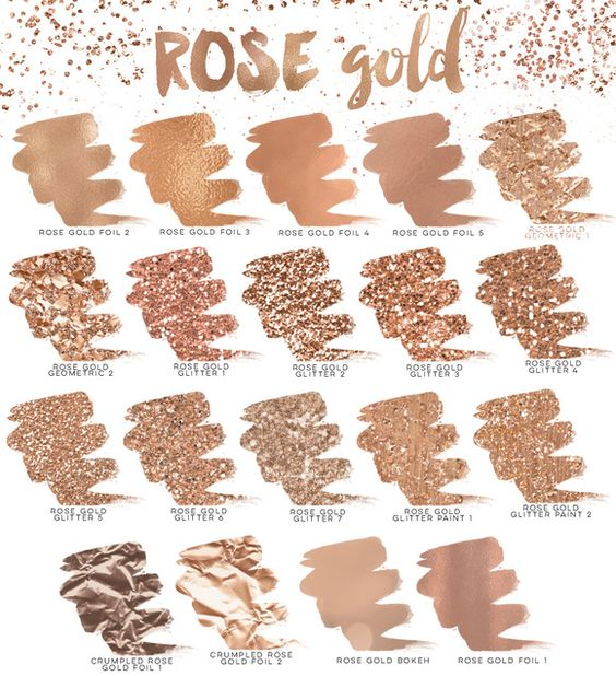 Paleta Rosé Gold